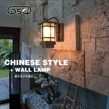 DSQ,American vintage waterproof wall lamp wall light