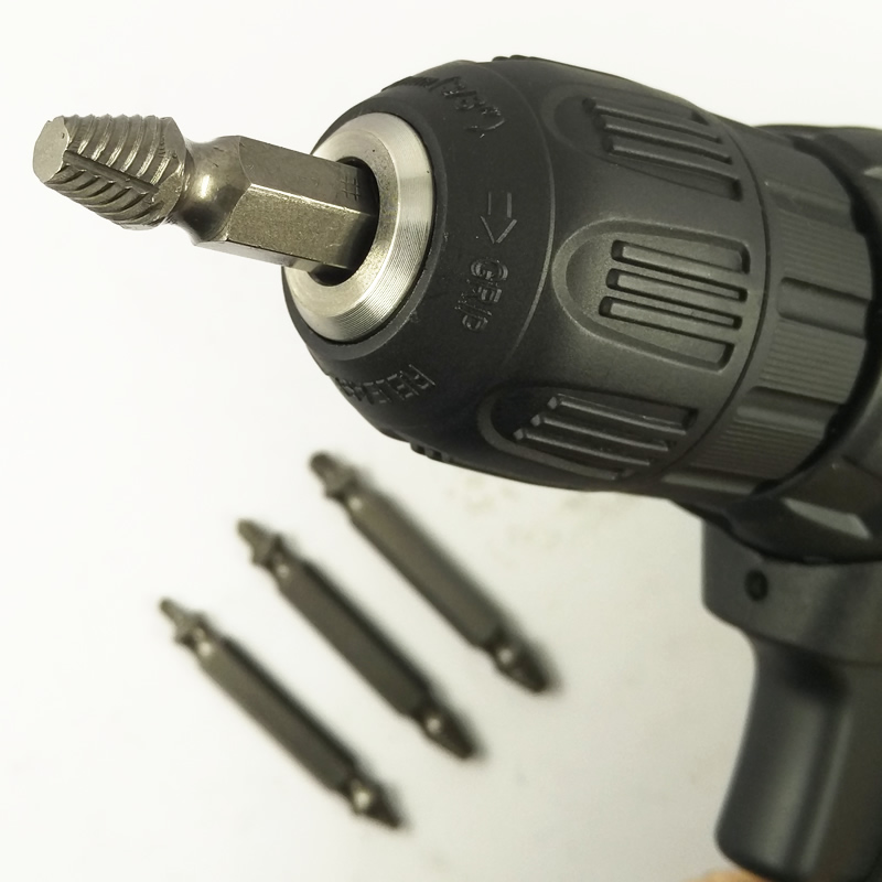DGKS Power Tool Accessories Remove Demolition Drill Bit Set Kit Power Tools Accessories Screw Extractor