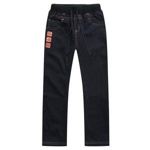 Image 3 - Nova moda primavera verão outono meninos calças 100% algodão calças criança casual comprimento total sólida para crianças 6 14years