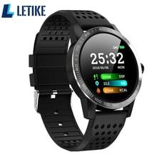 Купить с кэшбэком Letike Smart watch T2 IP68 Waterproof Heart Rate Blood pressure monitoring Smartwatch Outdoor Sport Bluetooth Fitness bracelet