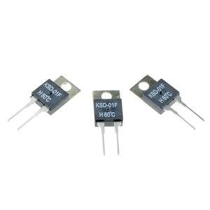 Image 2 - 40 50 60 70 80 90 100 DegC NC בדרך כלל סגור אין בדרך כלל פתוח 1.5A תרמית מתג טמפרטורת חיישן טרמוסטט KSD 01F JUC 31F
