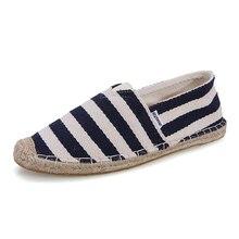 2016 Fashion stylish Plimsolls slip-on men's casual shoes 4 color Wear-resisting rubber soles Canvas shoes hemp solehemp shoes