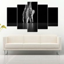 HD Tiskana suvremena zidna umjetnost Naslovnica Okvir slikarstva 5 komada / komada baletne modularne dekoracije Poster na platnu Dnevni boravak
