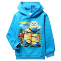 Add More Children's New Despicable Me Minion Sweater with Warm Thickened Child T-shirt Baby Kids Clothes
