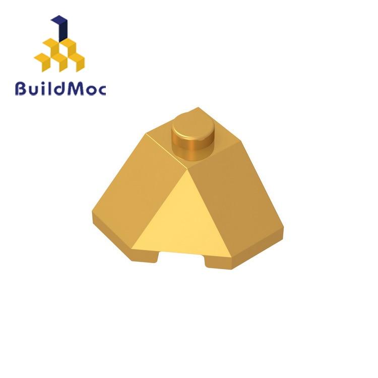 BuildMOC Compatible Assembles Particles 13548 2x2 For Building Blocks Parts DIY LOGO Educational Tech Parts Toys