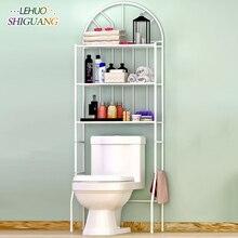 Ванная комната полка для туалета полки стеллаж для хранения нержавеющая сталь сборки может быть удален двигаться Полка над стиральной машиной мебель