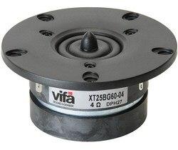 2PCS Original VIFA XT25BG60-04 4inch Home Audio Silk Dome Tweeter Speaker Dual Magnets Pair Price
