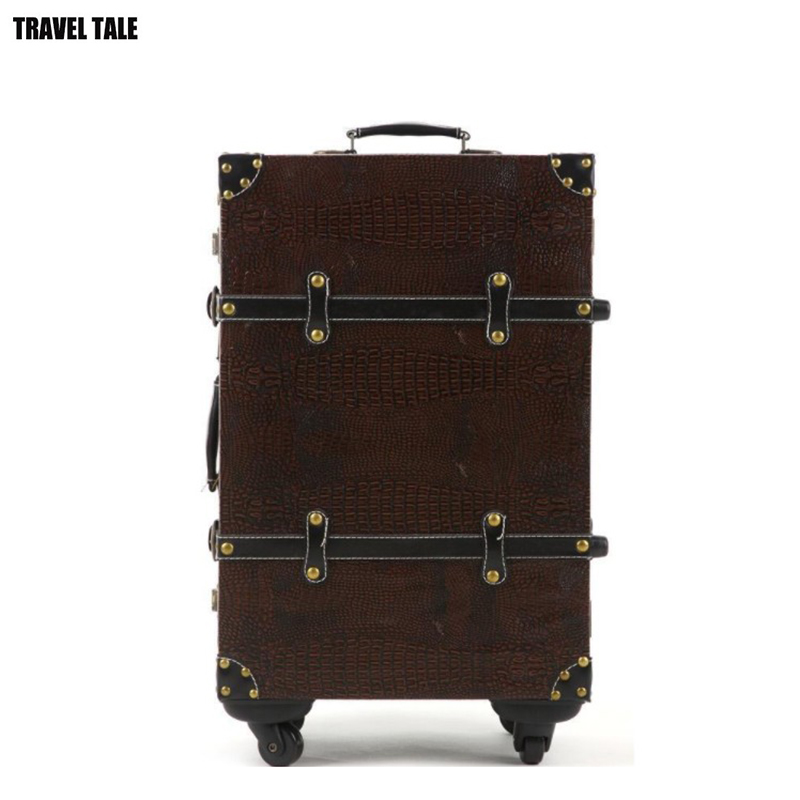 Suitcase Trolley-Bag TRAVE Luggage-26 20-Spinner Retro TALE Women