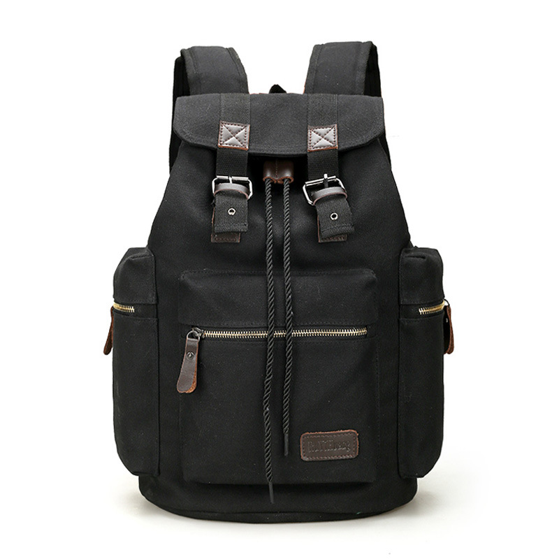New Vintage Men's Backpacks Fashion Canvas Backpack Leisure Travel Bags Unisex Laptop Backpacks  Mochilas newest hmong embroidered women backpack black canvas ethnic casual travel backpack fashion vintage laptop bags