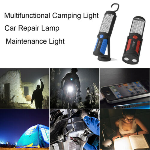 Outdoor 36+5 LEDs Handheld Emergency Light Large Capacity Battery Work Lamp