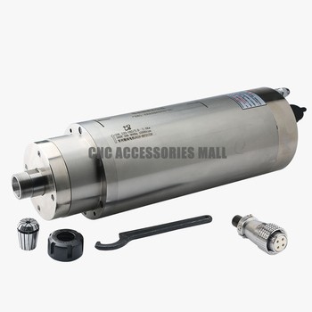 High torque 7.5KW ER25 Water cooled spindle motor 380V/220V 18000rpm for Engraving Stone with 4 bearings new branded water cooled spindle motor 800w er11 400hz with 4 bearings in stock