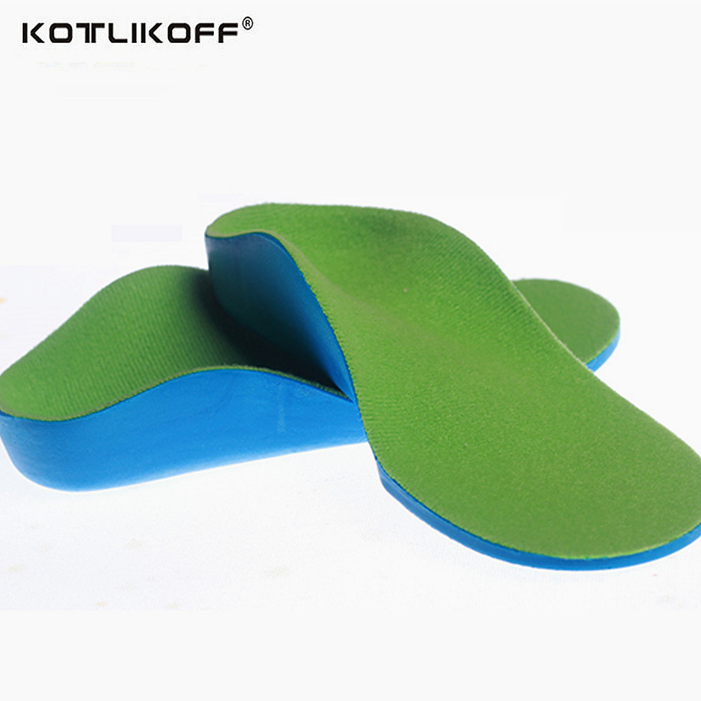 Orthotic Insoles For Children Flat Foot Arch Support Orthotic Pads Correction Health Feet Care Insole O/X Type Leg Insoles