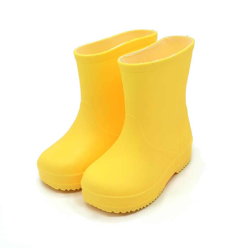 2019 New Fashion Kids Rain Boots Girls