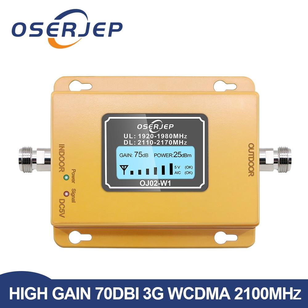 Повторитель 3g 2100 повторитель сигнала для сотового телефона 2100 МГц Мобильный телефон усилитель сигнала, ЖК дисплей мини 70db 3G LTE WCDMA UMTS|phone signal repeater|repeater 2100signal repeater - AliExpress
