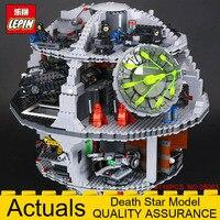 2018 LEPIN 05063 Force Waken Death Star Model Educational Building Blocks Bricks Toys Compatible LegoINGlys 75159 4016pcs Wars