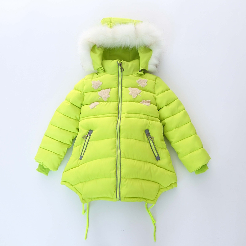 Winter Down Jacket Coats Kids Hooded Parkas Children Jackets For Girls Child Cotton Kids Parkas 2 casual 2016 winter jacket for boys warm jackets coats outerwears thick hooded down cotton jackets for children boy winter parkas