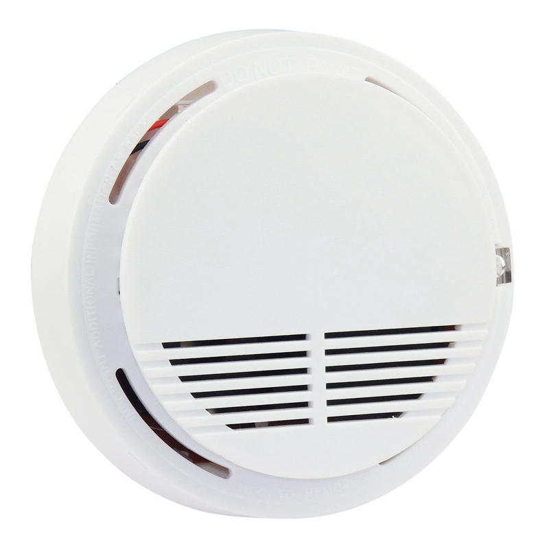 Wireless Smoke Detector 433MHz Frequency Security Alarm Panel Battery Operation
