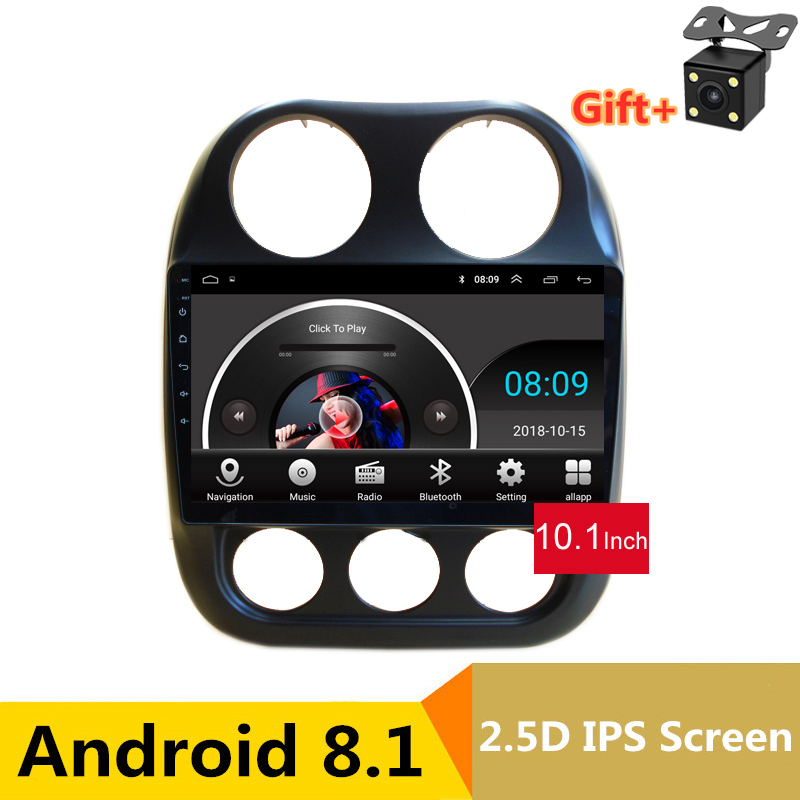10.1 2.5D IPS Screen Android 8.1 Car DVD GPS For JEEP COMPASS 2010 2011 -2015 2016 audio car radio stereo tape recorder wifi10.1 2.5D IPS Screen Android 8.1 Car DVD GPS For JEEP COMPASS 2010 2011 -2015 2016 audio car radio stereo tape recorder wifi