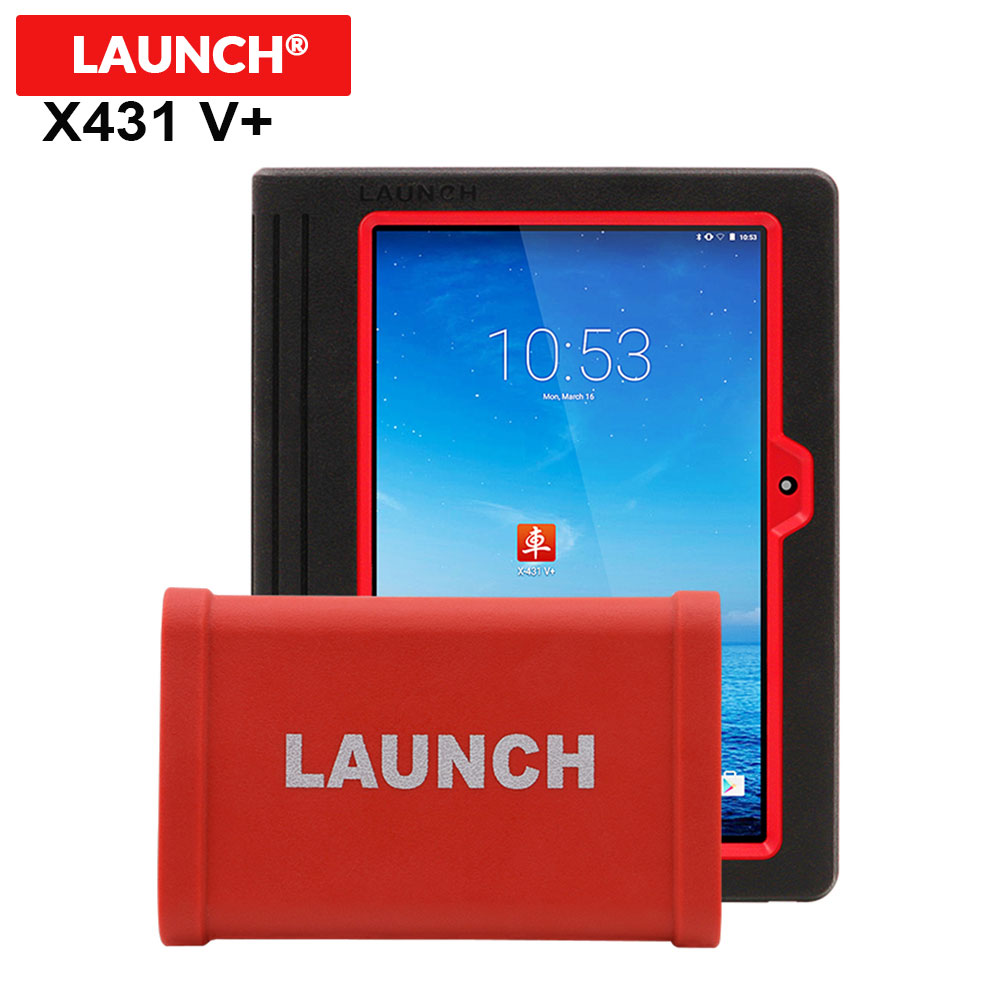 LAUNCH X431 V plus Wifi Bluetooth with HD Heavy Duty Truck Truck Diagnostic Module full set