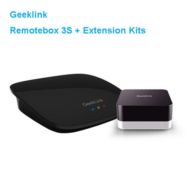 Geeklink 3 s de acogida + extensión dispositivos inteligentes, router wifi + ir + control remoto de rf 433 mhz interruptor by ios android smart home automation