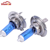 Urbanroad 2PCS H7 12V 100W 6000K Xenon H7 Super White Halogen Car Light Source Bulbs Headlights   Auto   Lamp Parking Cars