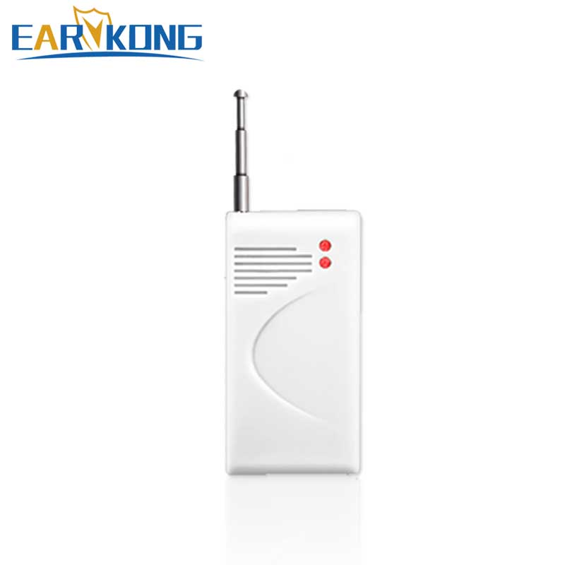 433MHz Wireless Vibration Detector Door Window Sensor Vibrate Alarm Glass Broken, For Home Burglar GSM Security Alarms System