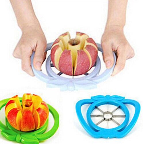 Kitchen Apple Slicer Corer Cutter Pear Fruit Divider Tool Comfort Handle for  Kitchen Apple Peeler  Fast Shipping fonksiyonlu rende