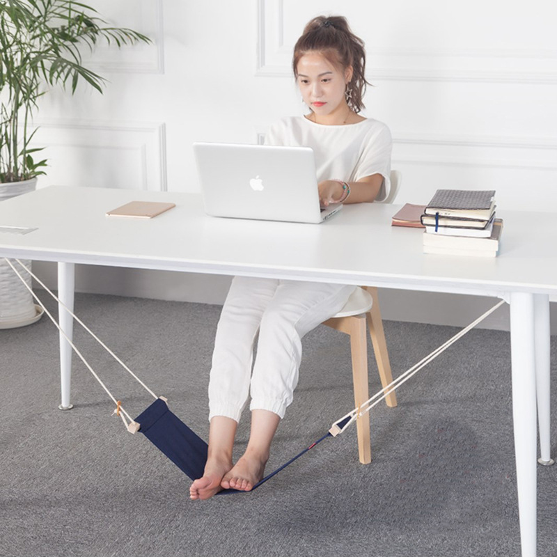 new originality novel desk rest on foot small hammock relieve foot fatigue foot pedal 65