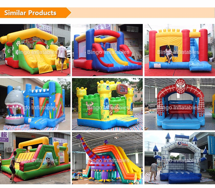 inflatable slide and bouncer jumping castle bouncing castle inflatbale slide combos for kids children party rental amusement park backyard (2)