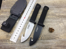 Cold Steel Newest 36G Master Hunter PLUS Fixed Blade Hunting Knife D2 Blade with Hook Camping Survial Tools EDC Kknife