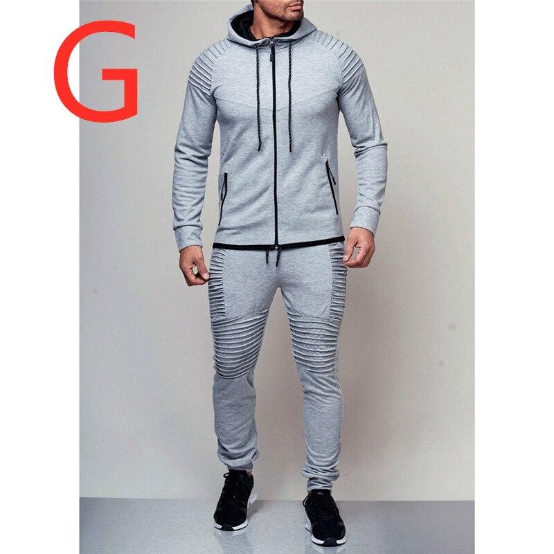 G pour homme mode marque personnalisée LOGO sweat-shirts hommes Sport Hoodies ensembles printemps costumes vêtements d'extérieur Zipper polaire hommes manteaux survêtements