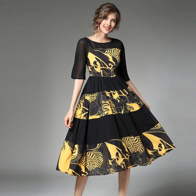 Kleid h&m gestreift