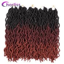 купить✲  Ombre Наращивание волос на дреды 20 дюймов Chorliss Women Locs Мягкие вязаные косички  Лучший!