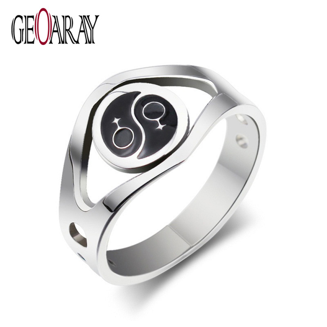 New brand vintage rings antique bronze exaggerate diagram of the new brand vintage rings antique bronze exaggerate diagram of the universe male symbol stainless steel ring ccuart Images