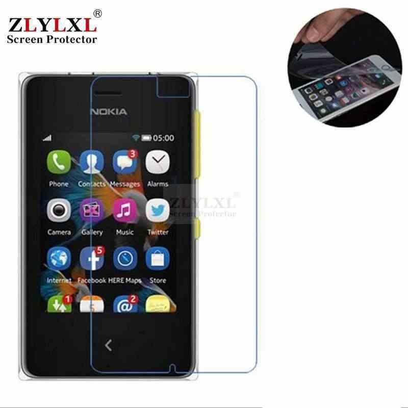 5 Pcs Banyak Lembut Tahan Gores Ultra Tipis HD Film untuk Nokia Asha 306 308 310 309 311 500 502 503 Pelindung Layar