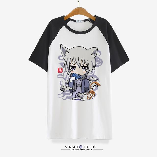 Beso Kamisama Hajimemashita Amor camiseta Animado tomoe Cosplay Lindo T-shirt de Algodón de Manga Corta Camisetas Para Hombres de Las Mujeres