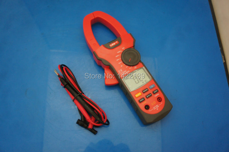 UNI-T UT209A Digital Clamp meter digital Multimeter DMM AC DC Voltage Ampere Ohm Hz Tester 1000A  цены