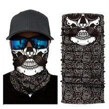 Biker Bandanas (5 pcs/lot) AC377-AC386 Outdoor Hat Cycling Turban Head Scarf Sports Face Mask