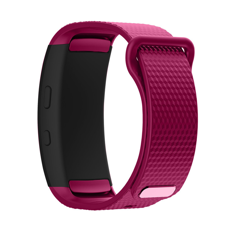 JPGIF Soft Silicone Replacement Band Sport Strap For Samsung Gear Fit2 Pro Fitness Smart Watch Bands Straps H7TY0
