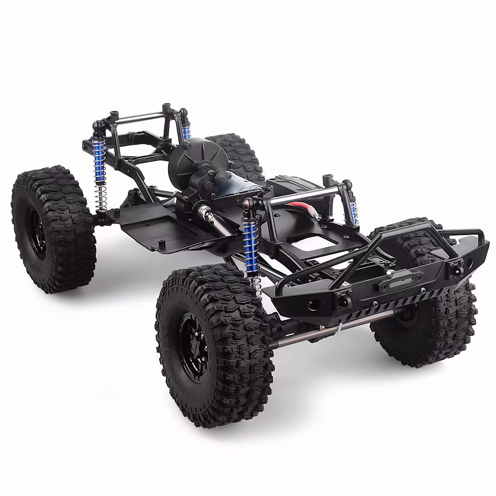 1:10 RC Crawler  Chassis Frame Kit Assembled For 1/10 SCX10 AXIAL Ii Rock Crawler RC Car Frame