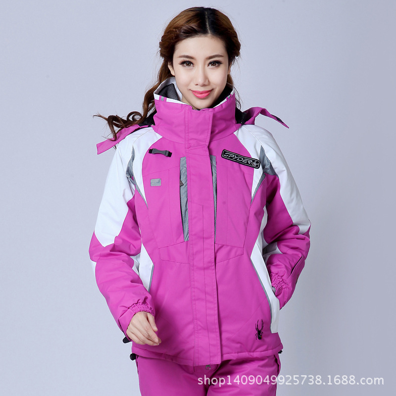 Outdoor Sports Warm Wind Winter Woman Ski Mountaineering Camping Hiking Piece Suit Jacket Large Size Snowboard Jacket Women
