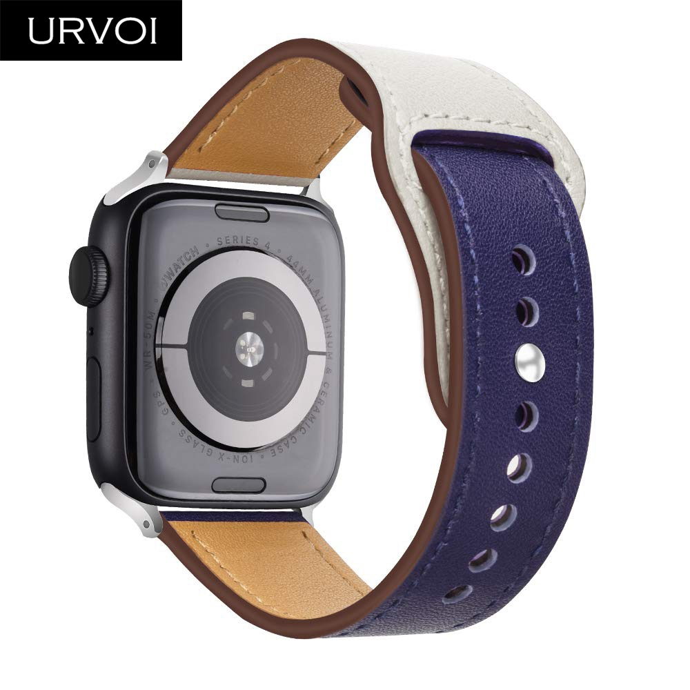 URVOI band for apple watch series 4 3 2 1 Genuine Swift Leather strap for iWatch wrist Pin & tuck closure Handmade sport designURVOI band for apple watch series 4 3 2 1 Genuine Swift Leather strap for iWatch wrist Pin & tuck closure Handmade sport design