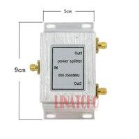 2 Way SMA złącze micro-taśmy moc splitter 800-2500 MHz wifi repeater signal booster dzielnik