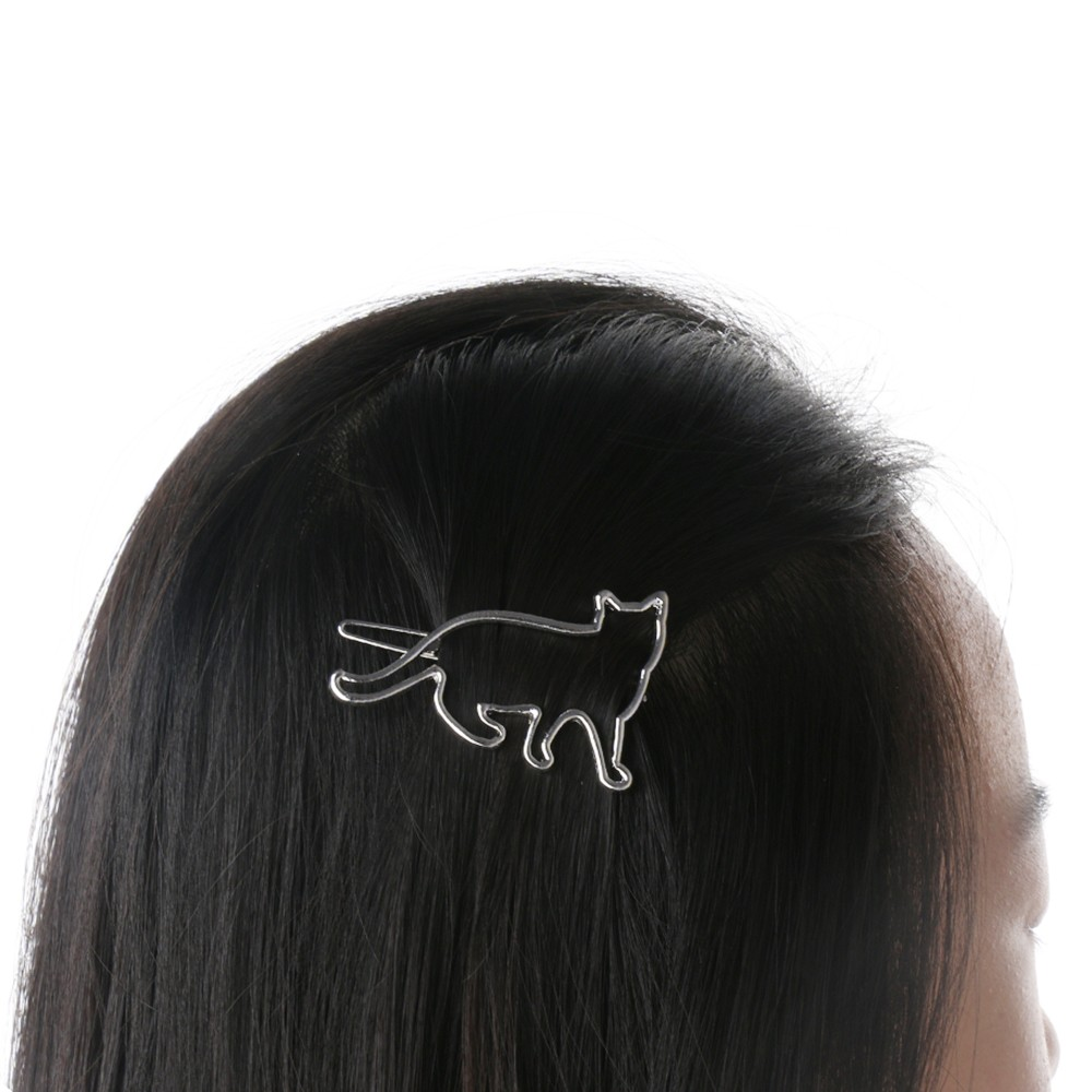 Lovely Cat Shaped Hair Clip