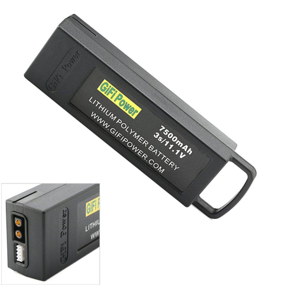 Rc Lipo Battery 11.1V 7500mAh 3S Flight lipo battery For Yuneec Q500 4K For Typhoon RC Drone original ev peak d1 rc lipo battery charging for yuneec typhoon q500 intelligent balance battery charger
