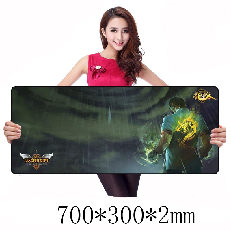 DTIME Large Gaming Mouse Pad Pads Mat Mousepad For Computer Laptop PC CS GO Miami Starcraft Natus Vincere Bloody VLOL World Map