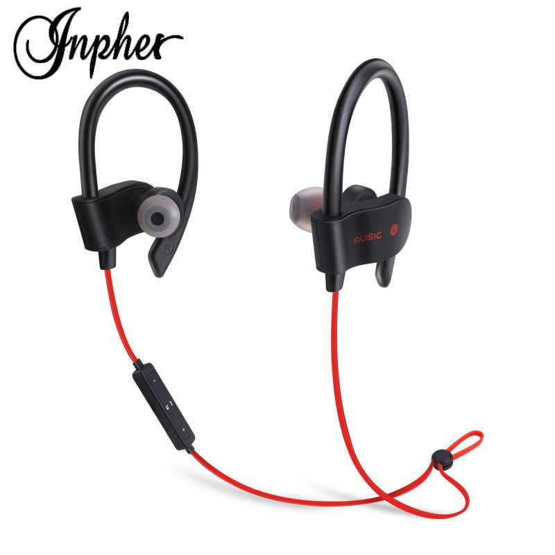 Inpher 56s Sport Wireless Bluetooth Earphone Headphone For Mobile Phone Headphones With Microphone Bass Headset Fone De Ouvido Aliexpress