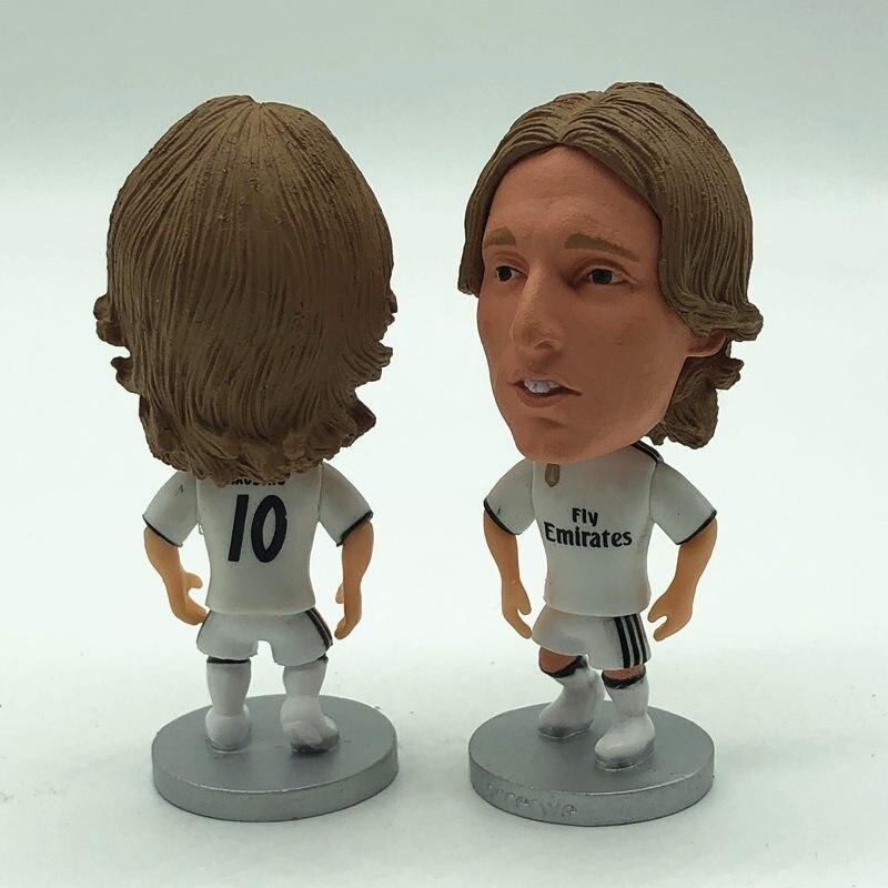 wholesale dealer a7e31 510e2 Soccerwe Soccer Star Doll RM 10 Luka Modric Figurine White ...