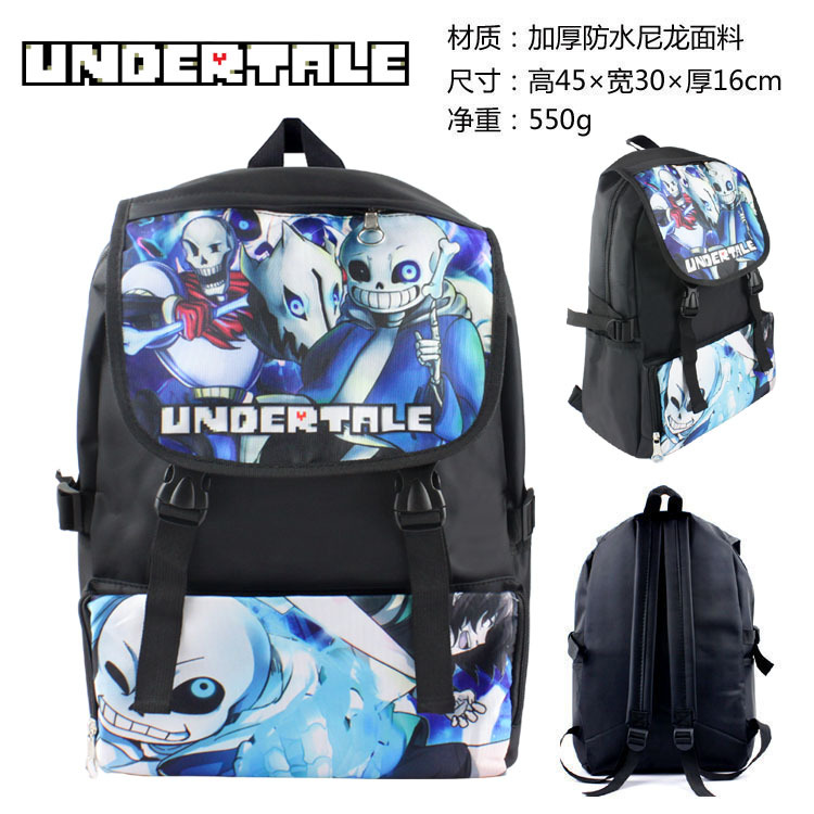 Game Undertale Backpack For Men Women Travel Bag Kids School Bags Teenagers Girls Boys School Backpack Children Daily Backpacks