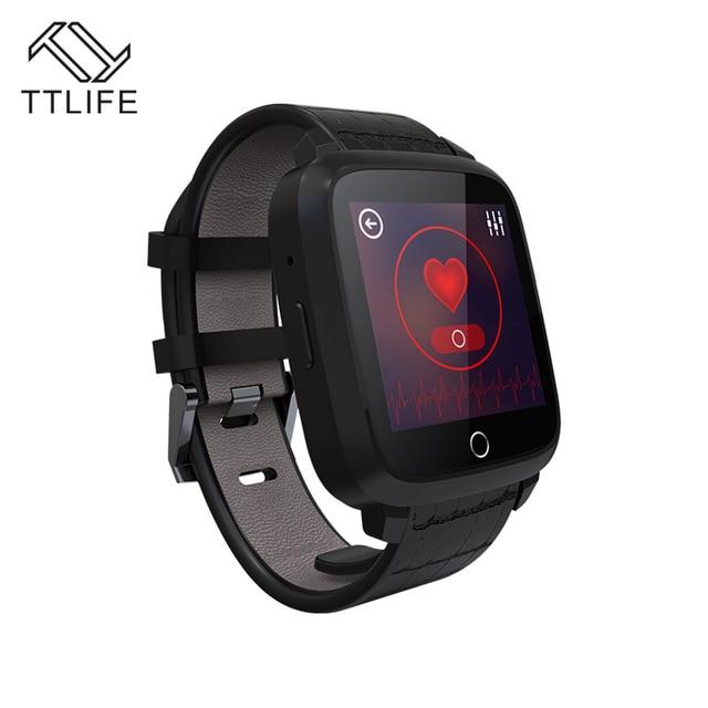 TTLIFE Android 5.1 Smart Watch 1 ГБ + 8 ГБ Поддержка WI-FI 3 Г GPS Google Карта Sim-карты Сердечного ритма Трекер Smartwatch для iPhone xiaomi